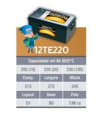 BATERIA ESTACIONARIA DURACELL 12v 220ah C20 / 230Ah C100 - 12TE220