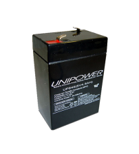 Bateria Selada 6v 4,5ah Unipower Up645 Seg  - UP645