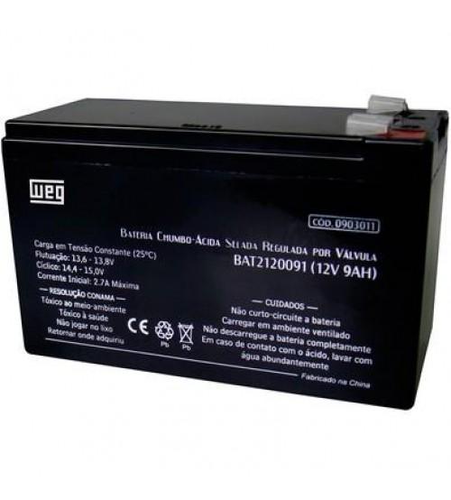 Bateria VRLA - WEG - 12 V 9 Ah