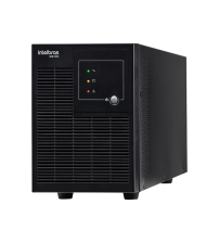 Nobreak - Intelbras - Nobreak Interativo SNB BI 700 VA Bivolt com saída 120v - SNBBI700VA