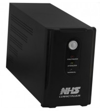 Nobreak NHS COMPACT PLUS DIG.  (700VA/2b.9Ah/USB/Gar 1) - 91.A0.007103